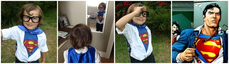 clark kent Collage